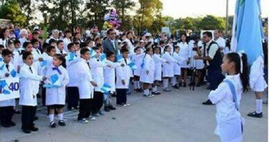 8 de abril: Estudiantes de establecimientos con clases presenciales y semipresenciales harán el juramento de lealtad a la bandera de Formosa