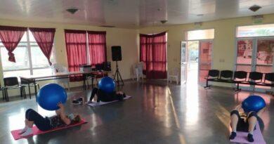 Reanudaron las actividades del Club de Columnas en el hospital de Las Lomitas