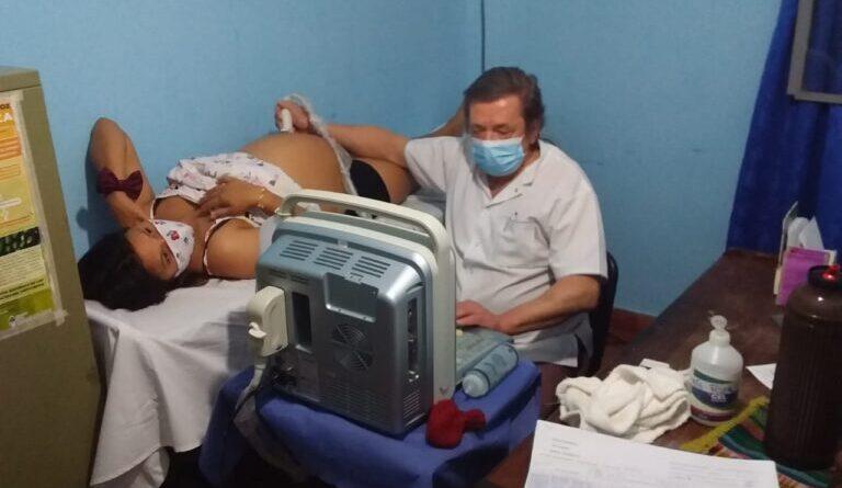 Trabajo conjunto del hospital de Pastoril y la Red Provincial de Ecografías